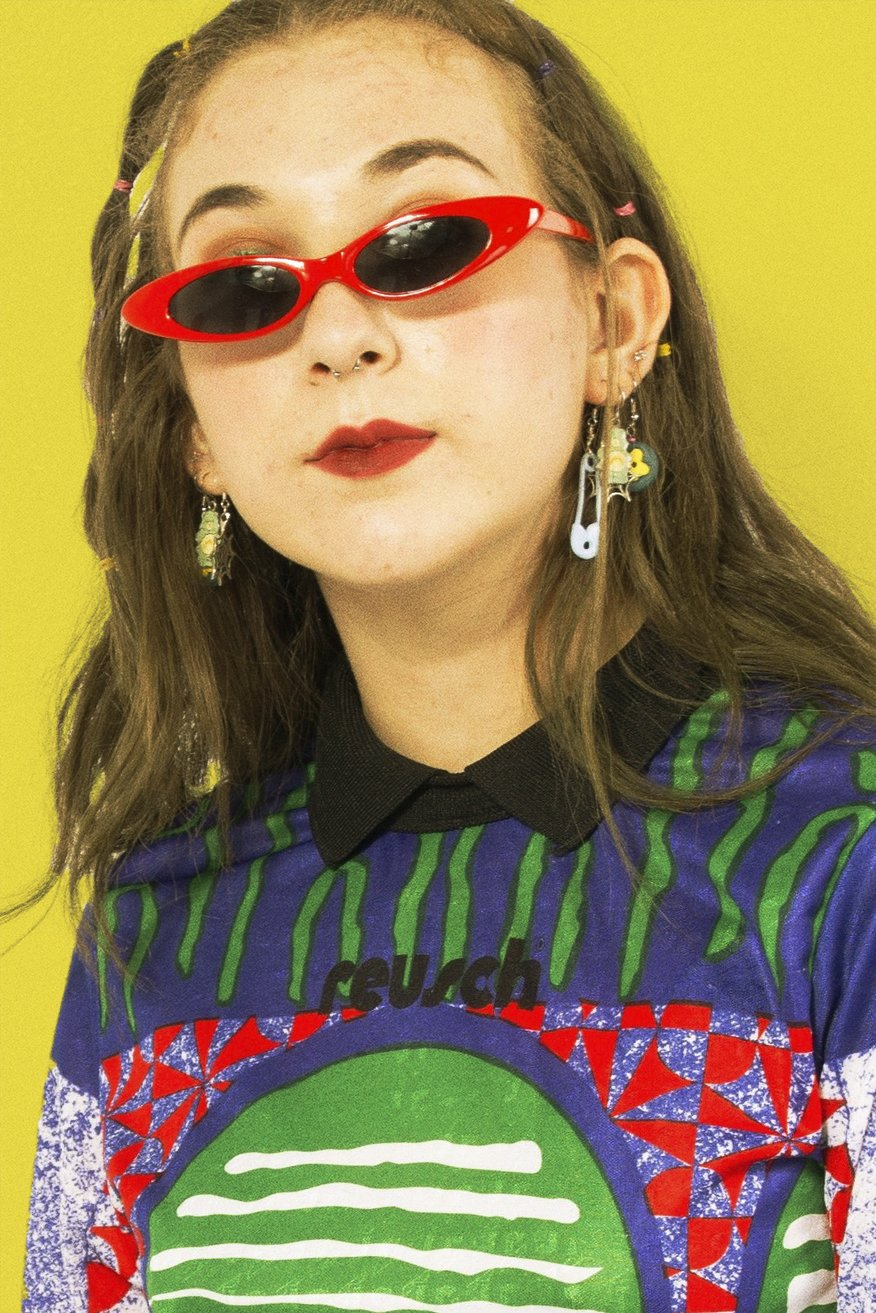 Red selenas sunnies