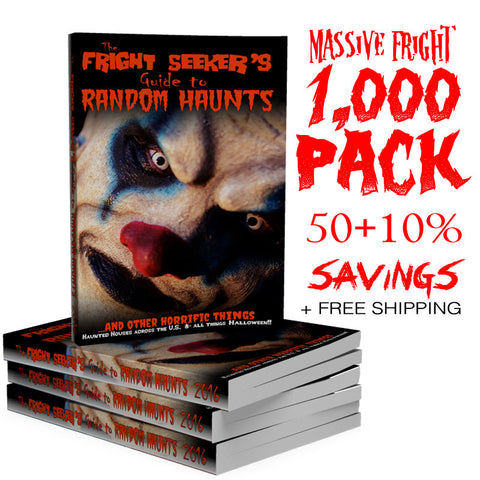 The Fright Seeker's Guide to Random Haunts - 1000 Pack