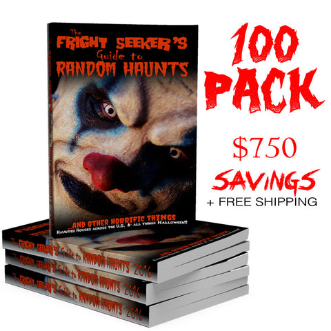 The Fright Seeker's Guide to Random Haunts - 100 Pack
