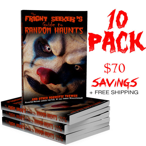 The Fright Seeker's Guide to Random Haunts - 10 Pack