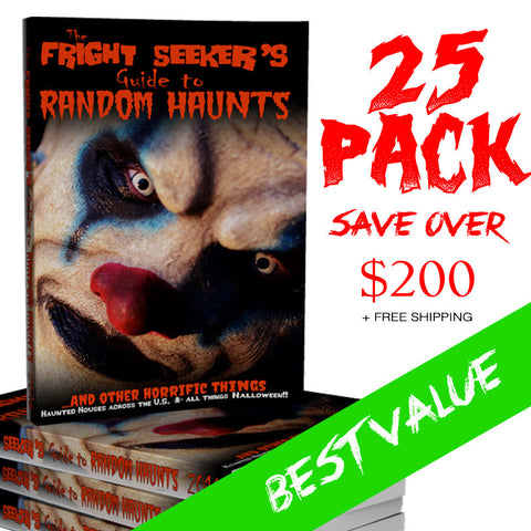 The Fright Seeker's Guide to Random Haunts - 25 Pack
