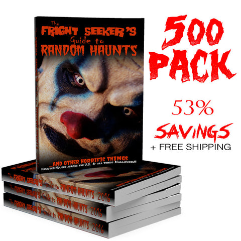 The Fright Seeker's Guide to Random Haunts - 500 Pack
