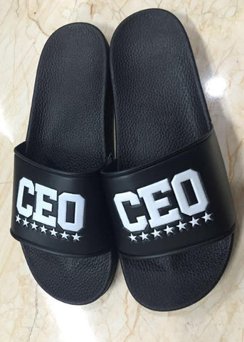 CEO BLACK SLIDERS