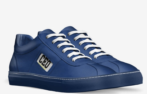 CEO Navy Blue Sneakers