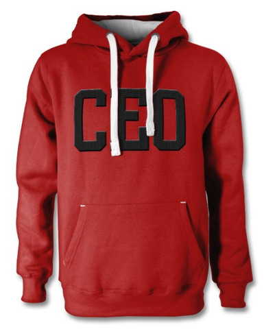 CEO Dusty Red Premium Hoodie