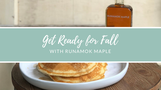 Get Ready for Fall with Runamok Maple