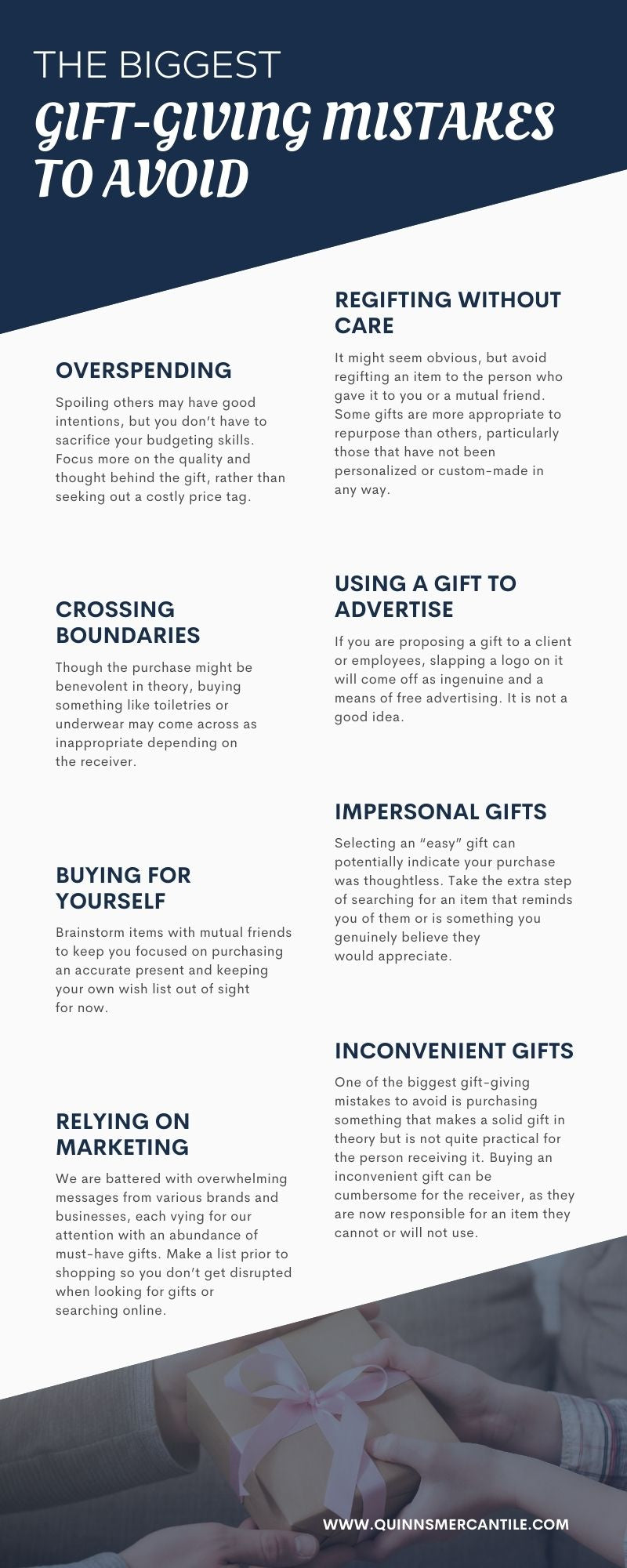 Gift-Giving Mistakes To Avoid