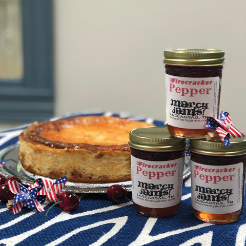 Firecracker Cheesecake with Marcy Jams