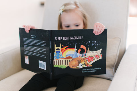 Sleep Tight Nashville Children's Book