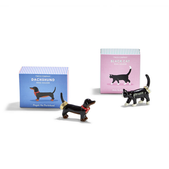 Dog and Cat Ring Holders-Jewelry-Quinn's Mercantile