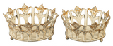 Metal Crown Trays-For the Home-Quinn's Mercantile