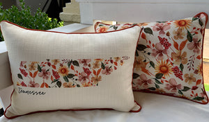 Tennessee State Pillows-Textiles-Quinn's Mercantile