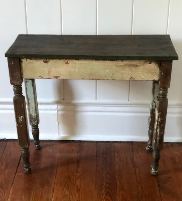 Vintage Wooden Table-Vintage Finds-Quinn's Mercantile