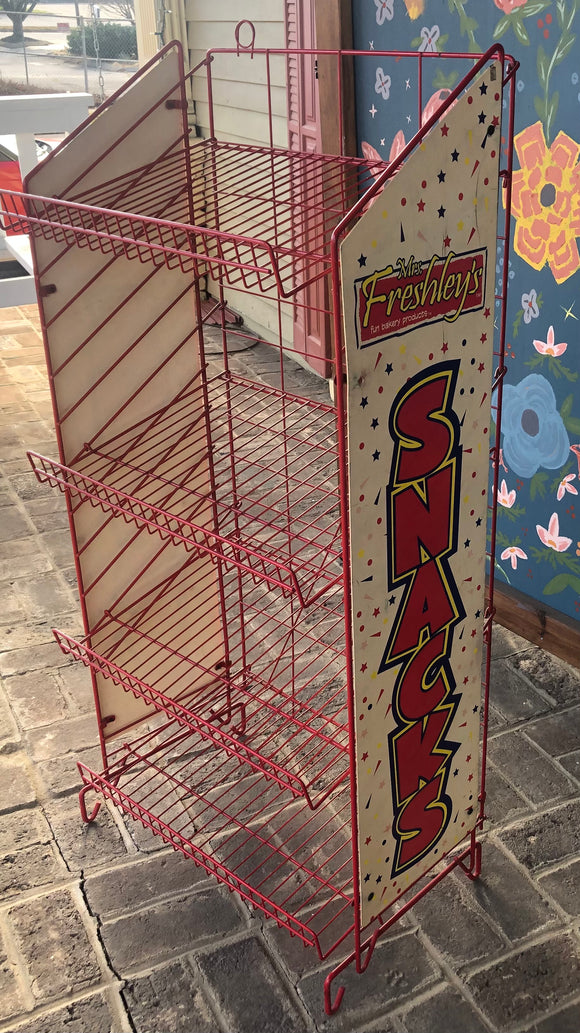 Vintage Metal Snack Rack-Vintage Finds-Quinn's Mercantile