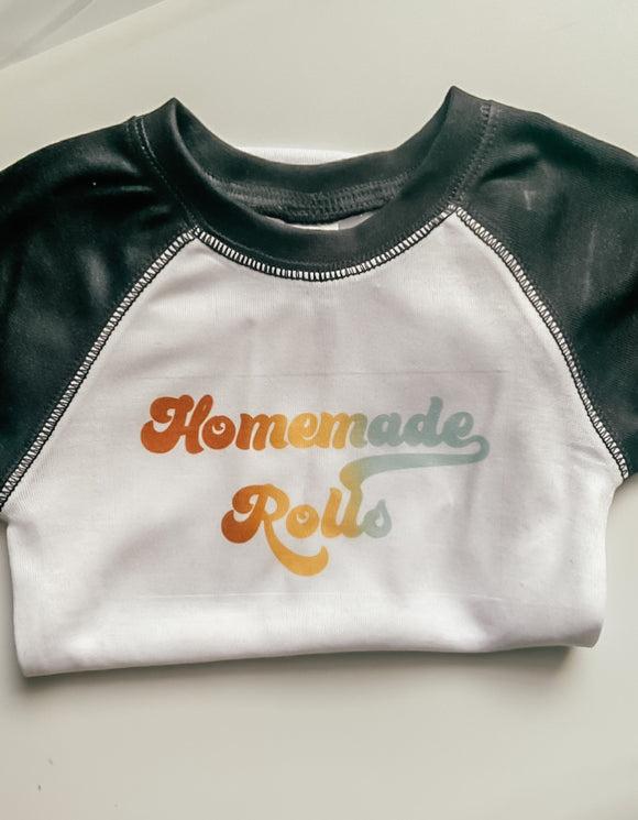 Retro Onesies-Baby Boutique-Homemade Rolls 0-3mos-Quinn's Mercantile