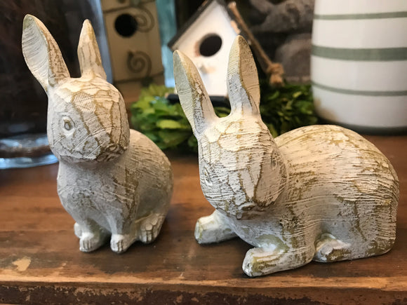Gray Rabbits-For the Home-Lying-Quinn's Mercantile