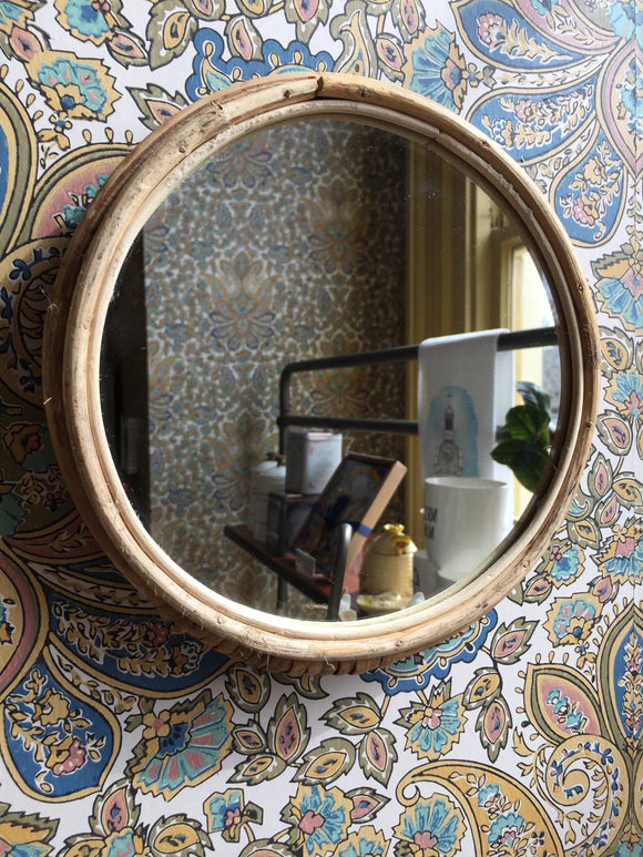 Bamboo Framed Mirror-For the Home-Quinn's Mercantile