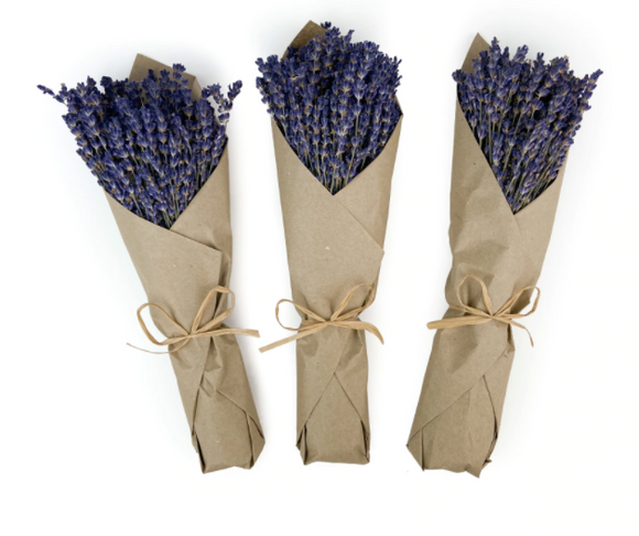 French Lavender in Kraft Paper-Floral-Quinn's Mercantile