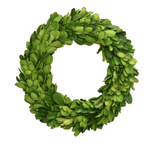 Boxwood Candle Rings-Floral-Quinn's Mercantile