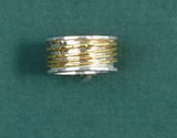 Rotating Rings-Jewelry-Silver Gold 7-Quinn's Mercantile