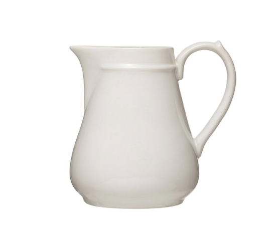 Stoneware Pitcher-Tableware-Quinn's Mercantile