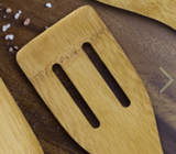 Wooden Utensils-kitchen-Slotted Spatula-Quinn's Mercantile