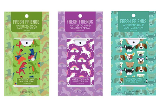 Fresh Friends Hand Sanitizer-bath products-Quinn's Mercantile
