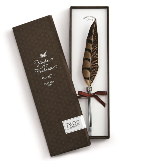 Feather Pen-Gift-Pheasant-Quinn's Mercantile