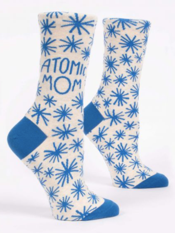 Blue Q Women's Sassy and Smartassy Socks-accesories-Atomic Mom-Quinn's Mercantile