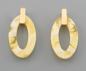 Acrylic Earrings-Jewelry-Quinn's Mercantile