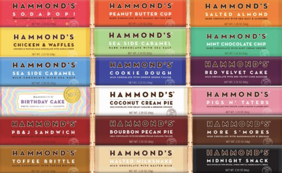 Hammond's Chocolate Bars-Foodie-Birthday Cake-Quinn's Mercantile