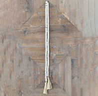 White Bead Garland-For the Home-Quinn's Mercantile