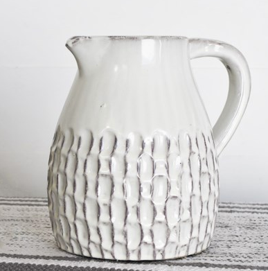 Textured Pitcher-For the Home-Quinn's Mercantile