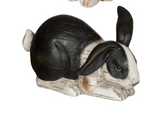 Black and White Bunnies-For the Home-Quinn's Mercantile