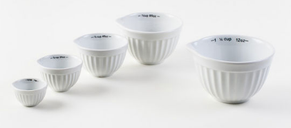 Porcelain Measuring Cups-For the Home-Quinn's Mercantile