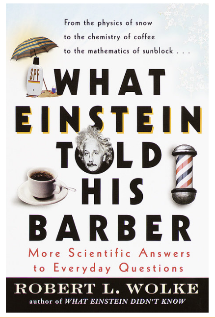What Einstein Told His Barber-Quinn's Library-Quinn's Mercantile