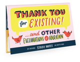Thank You Sticky Note Packet-stationery-Quinn's Mercantile