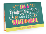 Grown-Ass Lady Sticky Note Packets-stationery-Quinn's Mercantile