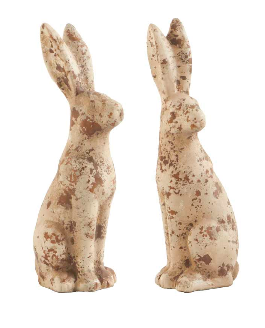 Terra Cotta Rabbits-For the Home-Quinn's Mercantile
