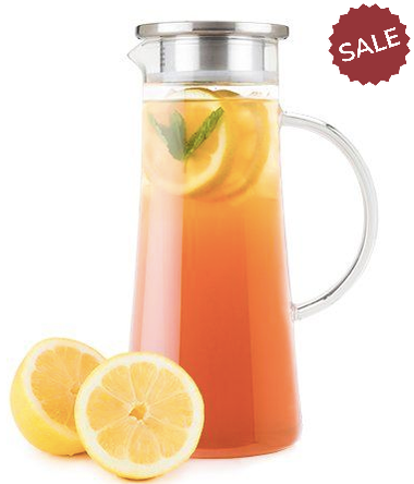 Iced Tea Carafe-kitchen-Quinn's Mercantile