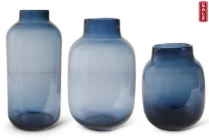 Persian Blue Dotted Vases-For the Home-Quinn's Mercantile
