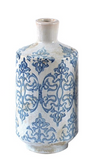 "Blue and White Vases-For the Home-7.5"" Medium Blue-Quinn's Mercantile"