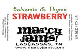 Marcy Jams!-Foodie-Balsamic & Thyme Strawberry-Quinn's Mercantile