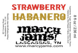 Marcy Jams!-Foodie-Strawberry Habanero-Quinn's Mercantile