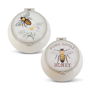 Bee Trinket Boxes-Jewelry-Quinn's Mercantile
