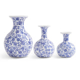 Chinoiserie Bud Vases-For the Home-Quinn's Mercantile