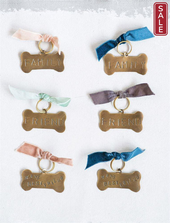 Brass Pet Tag-Furry Friends-Quinn's Mercantile