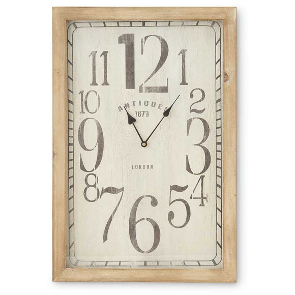 European Antique Wall Clock-For the Home-Quinn's Mercantile