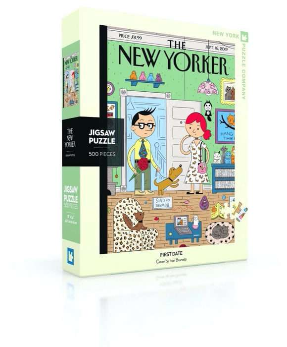 Fun Family Puzzles-Gift-First Date 500pc-Quinn's Mercantile
