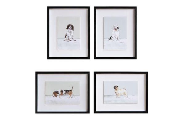 Dog Breed Framed Prints-Furry Friends-Quinn's Mercantile